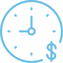 time-is-money-blue