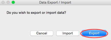 Import:Export PayGo Data Request
