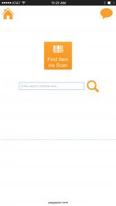 PayGo FancyFree 5.5 SpotCheck Inventory Find Item via Scan Screen