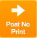 Post No Print Button