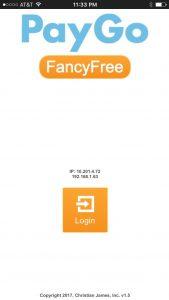 PayGo FancyFree 5.5 Home Screen