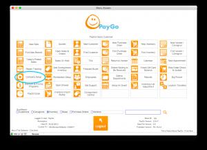 PayGo Main Menu Company Setup