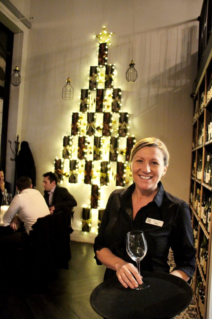 Sara Saunby owner of Salut Wines