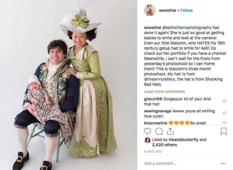 Instagram Sewstine