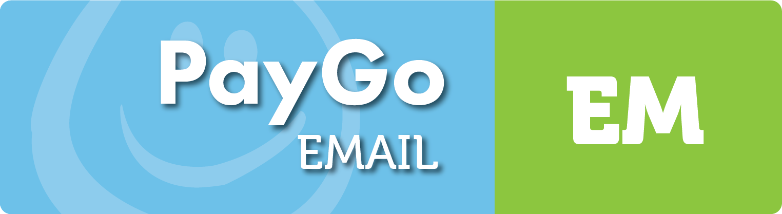 Send slick emails from PayGo