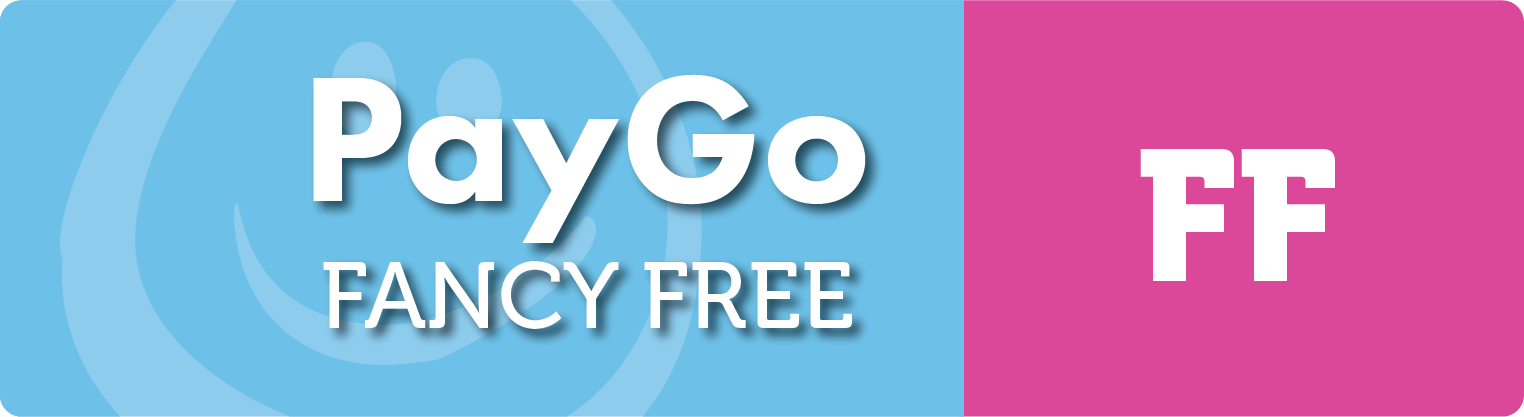 Be free and fancy. Mobile PayGo is here.